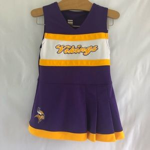 Other - MN Vikings cheer leader dress 2t